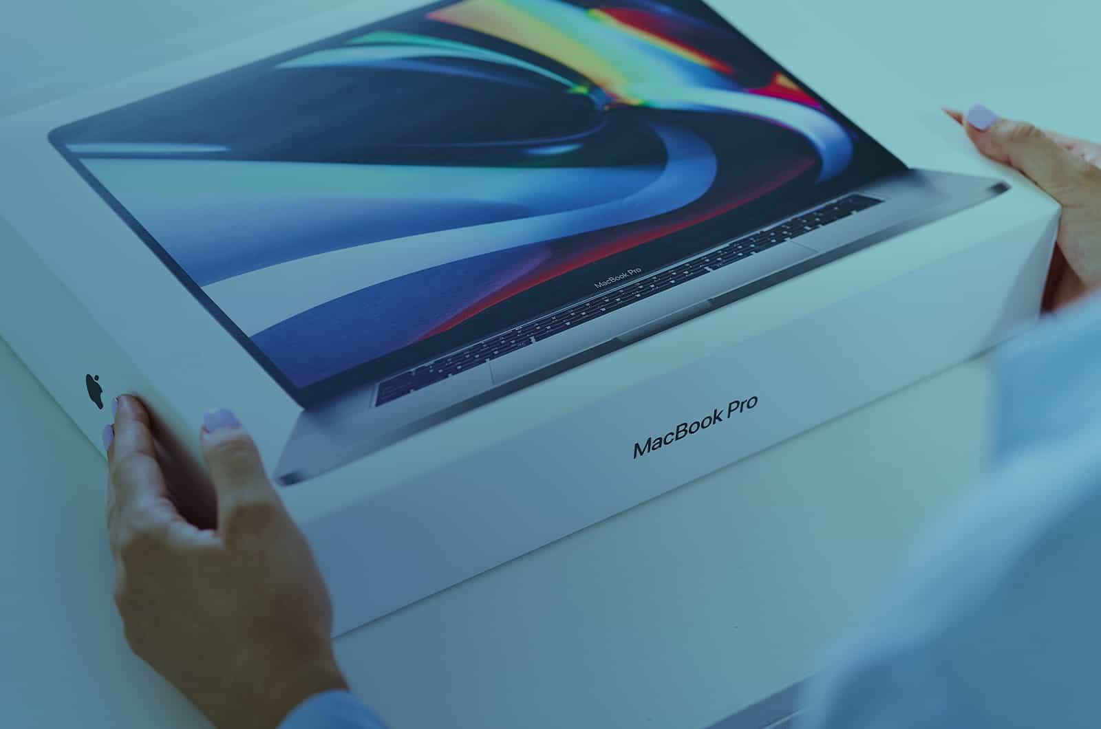 Packaging MacBook Pro