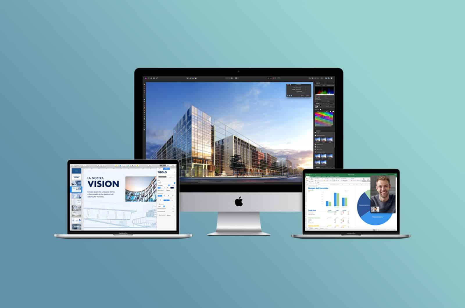 MacBook Pro, MacBook Air e iMac