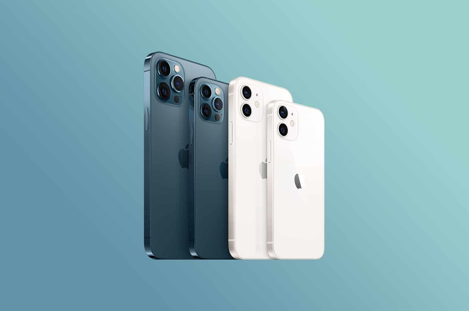 iPhone 12 mini, iPhone 12 e iPhone 12 Pro