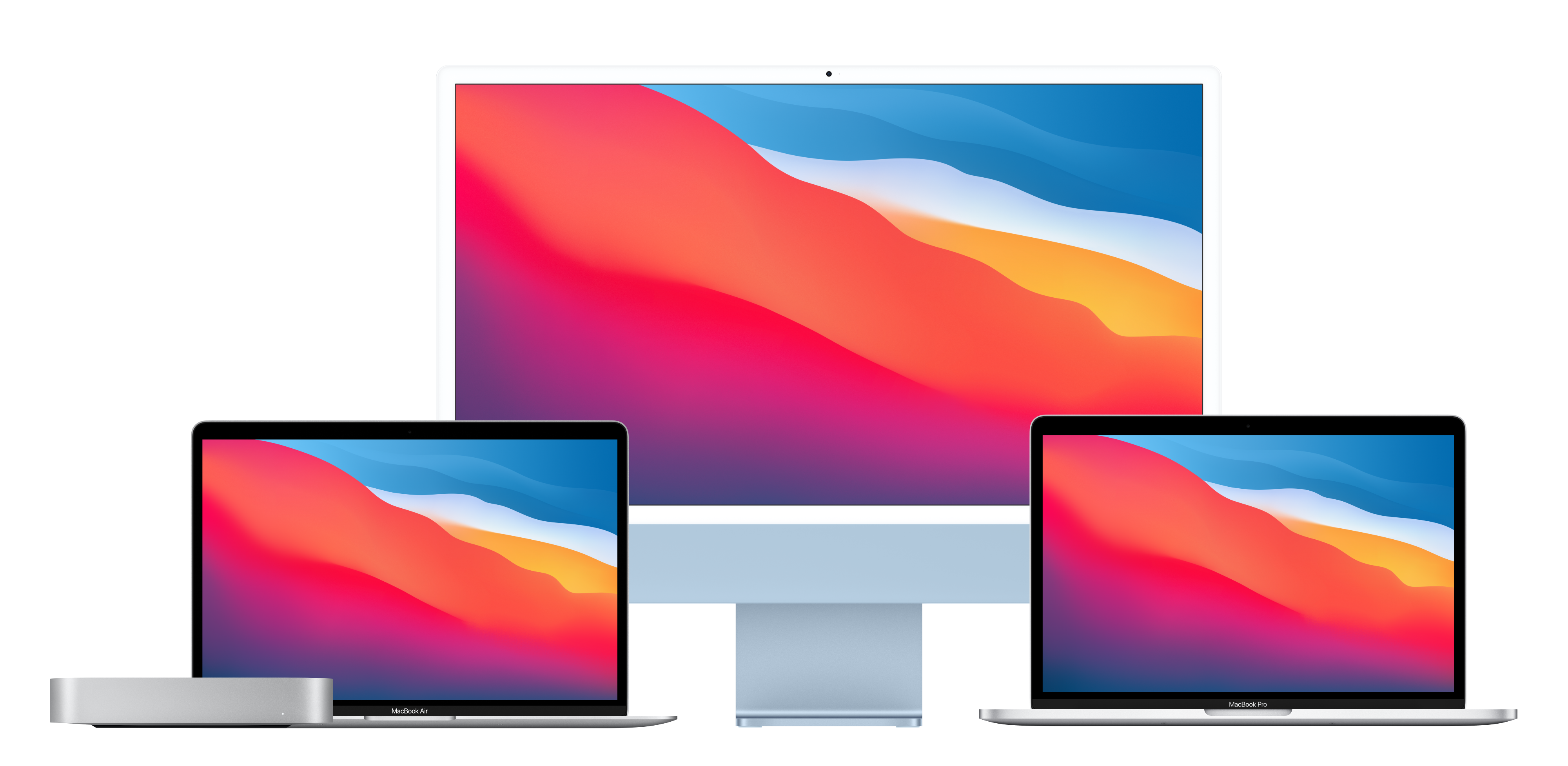 Mac mini, MacBook Pro, MacBook Air e iMac