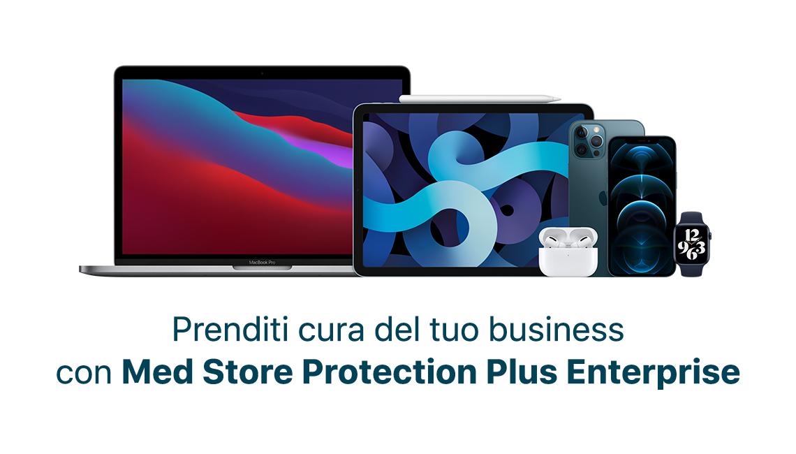 EnterprisePrenditi cura del tuo business con Med Store Protection Plus