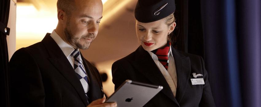 Apple iPad British Airways